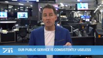 Mike's Minute: Our public service is consistently useless