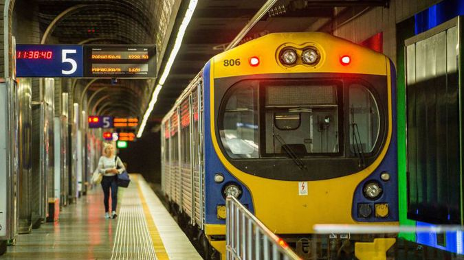 """Auckland train operators are planning a 24-hour strike on Friday, but operator Transdev claims the strike is """"premature"""". (Photo \ NZ Herald)"""