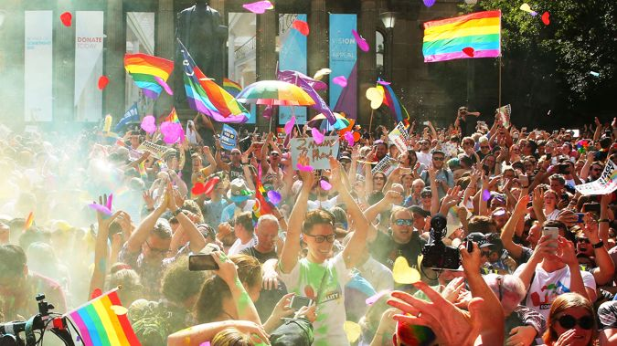 Australia has voted in favour of gay marriage. (Photo / Getty)