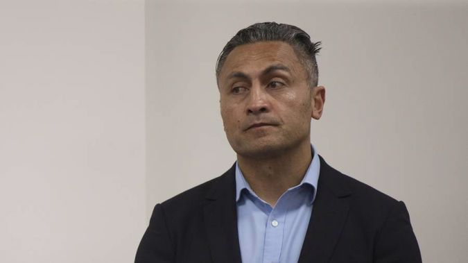 Former Shortland Street actor Rene Naufahu appears in Auckland District Court on September 1 this year. (Photo / Nick Reed)