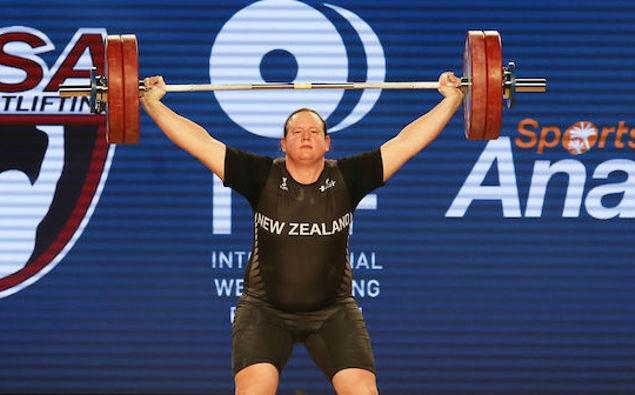 Weightlifter Laurel Hubbard. (Photo / Photosport)