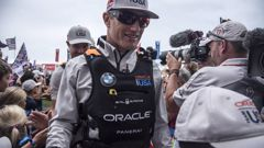 The Australian Oracle Team USA sailor said he would love to see Australia in the next America's Cup but there's still plenty to discuss. (Photo / Sam Greenfield)
