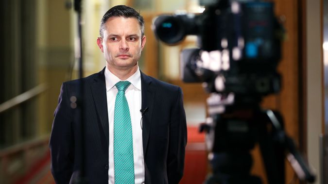 James Shaw is currently the sole leader of the Green Party. (Photo / Getty)