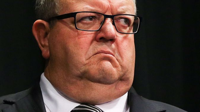 Gerry Brownlee is not happy with the Prime Minister's actions around Manus. (Photo / Getty)