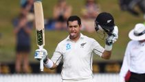 Ross Taylor scores record-equalling 17th Test century