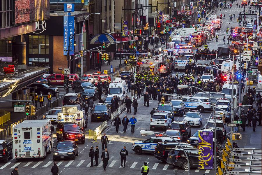 Who is the New York City bomb suspect