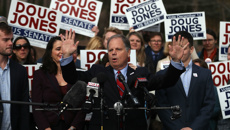 Jones wins in stunning Alabama upset