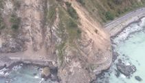 State Highway One reopens north of Kaikoura