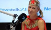 Rachel Smalley hosted her last show as Wonder Woman. (Photo / Newstalk ZB)