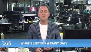 Mike's Minute: What's left for a rainy day?