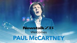 Paul McCartney talks exclusively with Mike Hosking. (Photo / File)