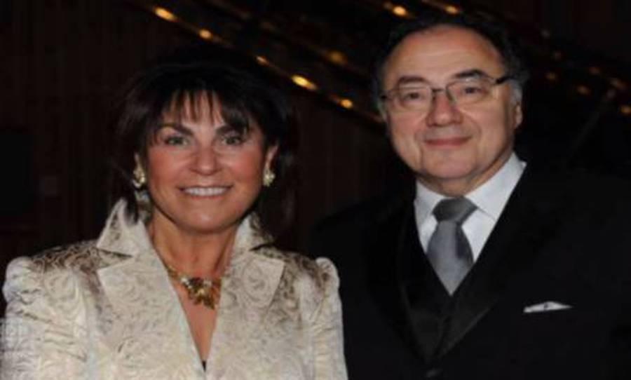 Apotex founder Bernard 'Barry' Sherman and his wife, Honey Sherman. Photo / CBC