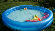 Camp ground bans paddling pools
