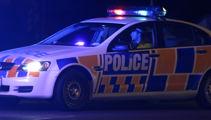 Gun brandishing driver flees police, twice, crashes car