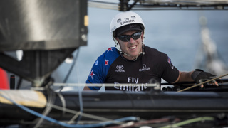 Lucky escape for Burling as teammate seriously injured