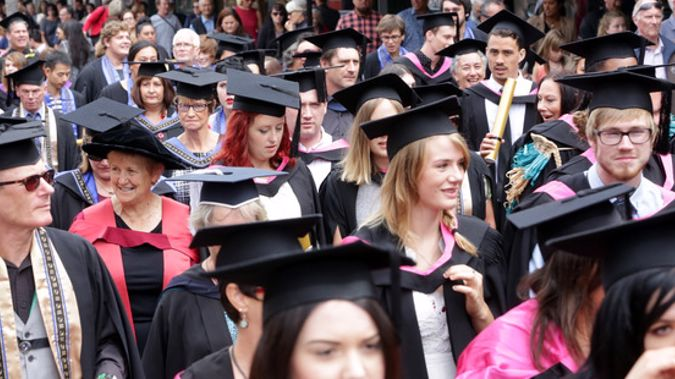 The average student borrowed $9000 a year. (Photo / NZ Herald)