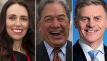 Politicians joke, fire shots in final speeches of the year