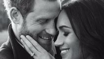 Prince Harry and Meghan Markle release loved-up engagement photos
