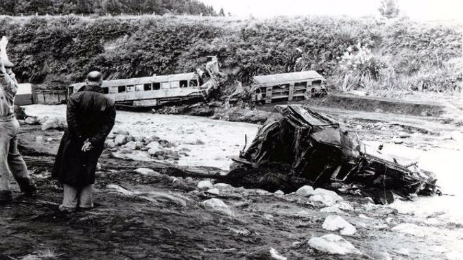 Tangiwai, as it is now simply known, is NZ's sixth most deadly disaster. (Photo: Graham Stewart, NZ Herald)