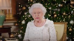 The Queen during her annual Christmas speech. (Photo / Supplied)