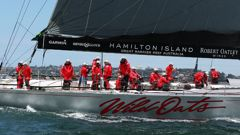 Kiwi sailors will be on both of the Wild Oats boats for this Sydney to Hobart showdown. (Getty Images)