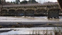 The Rakahuri or Ashley River in 2013. (Photo \ Tyler Adams)