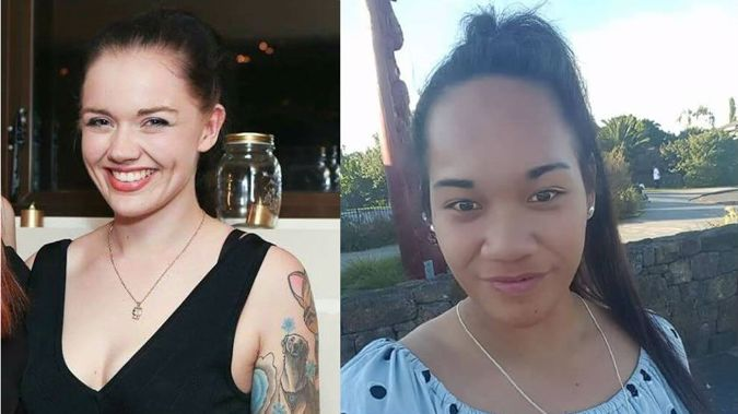 Rebekah Schreuder (left) and Blessing Ielu (right) have both been found safe and well by police. (Photo \ Supplied)
