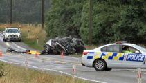 Two men killed in Canterbury crash named