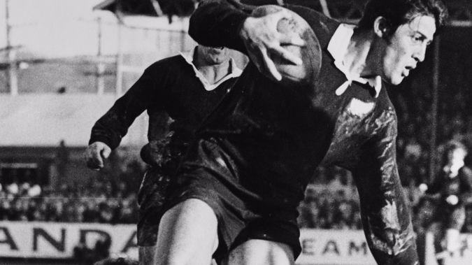 Bryan Williams playing for the All Blacks in 1971. Photo: (Getty Images)