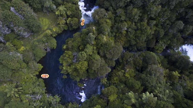 The Kaituna River in the Bay of Plenty where a search is underway for a missing teenage kayaker. (Photo: Nick Reed)