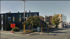 The brawl occurred near the intersection of St Asaph St and Manchester St. (Photo: Google Street View)