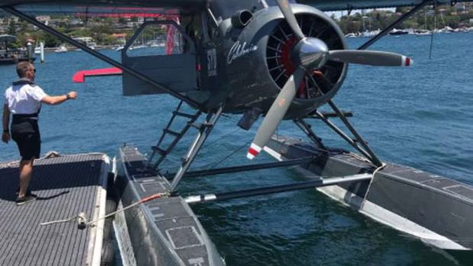 A photo of the plane, taken one week prior by Kiwi entrepreneur Tim Wood. Photo / Supplied