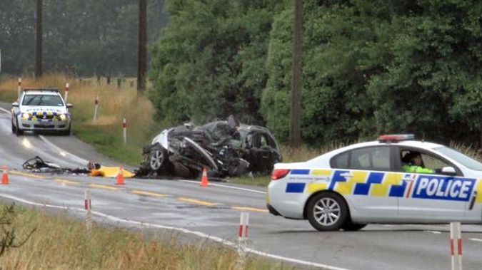 The fatal crash in Glenavy last week was one of the final ones of the year. (Photo / NZ Herald)