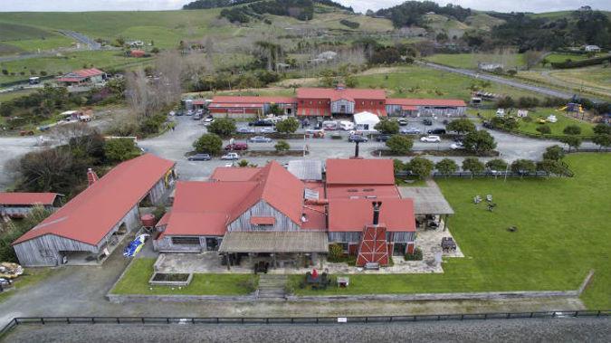 The crash at Matakana has coused holdups for those heading to see rocker Bryan Adams at Matakana Country Park tonight. (Photo: NZ Herald/Supplied)