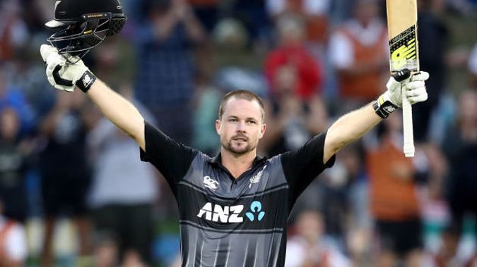 Colin Munro scored 104 off just 53 balls as the Black Caps crushed the West Indies to win the T20 series 2-0. (Photo \ Getty Images)
