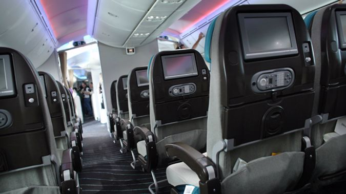 Airplane screens are reportedly very expensive and quickly become obsolete (Photo / Getty)