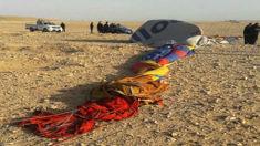 Kiwis survive deadly hot air balloon crash in Egypt