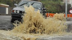 Heavy rain, thunder, lightning and even hail could be on the way for the central North Island. (Photo \ Getty Images)