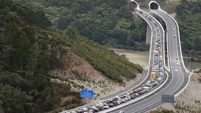 The current Northern Gateway toll road, between Auckland and Whangarei (NZ Herald)