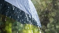 Severe weather warning for middle of country