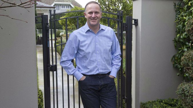 The former PM said the incident was a little disconcerting (Image / NZH)