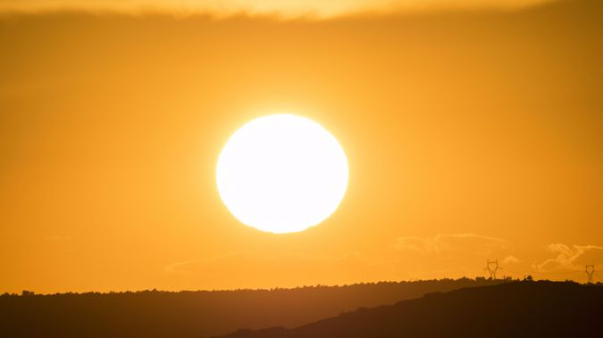 The mercury hit 32 degrees today (Image / Getty Images)