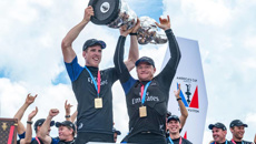Team NZ up for prestigious international award