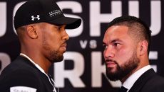 Joshua hits back over Parker's 'glass jaw' taunts