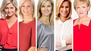 Just a few of TVNZ's specific type of host. (Photo / NZ Herald)