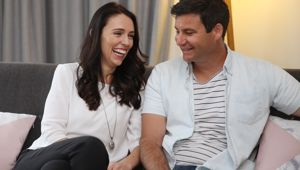 Jacinda Ardern and Clarke Gayford announced today they would be having their first child this year. (Photo/ NZ Herald)