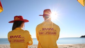 Lifeguards in Australia were able to reach the two teenagers in the water quickly due to the maneuverability of the drones. (Photo/ Supplied)