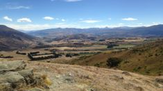 Scorching Queenstown -  fires out, water restrictions in