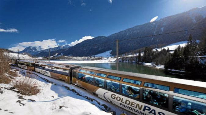 The Golden Pass operates on  on a line that has seen well over a century of service and is not just a tourist line but a crucial commuter route. (Photo: Mike Yardley)