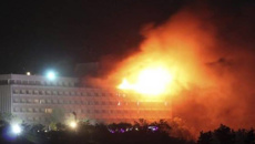 Gunmen open fire at Kabul's Intercontinental Hotel